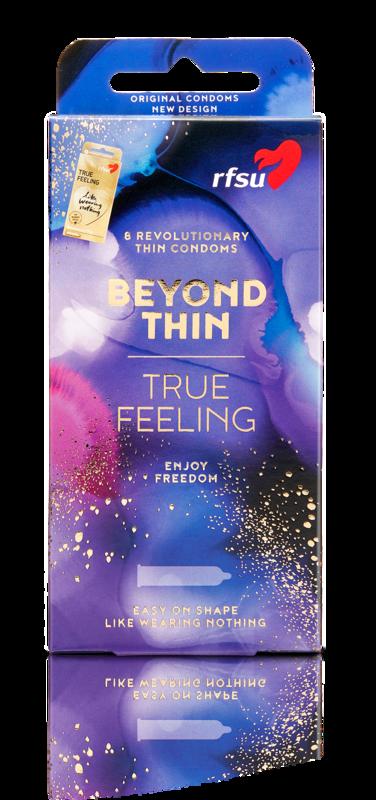 BEYOND THIN   Revolutionary Thin Condoms