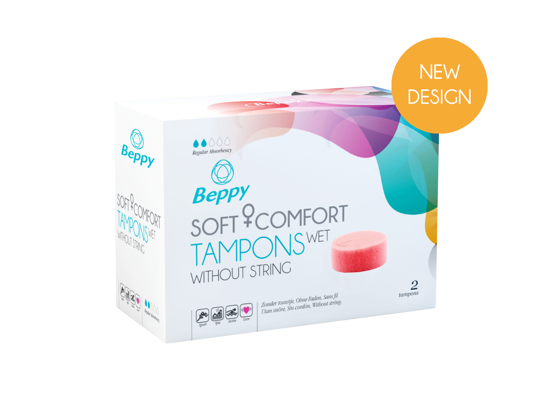 BEPPY Hygiene - Comfort - Tampons