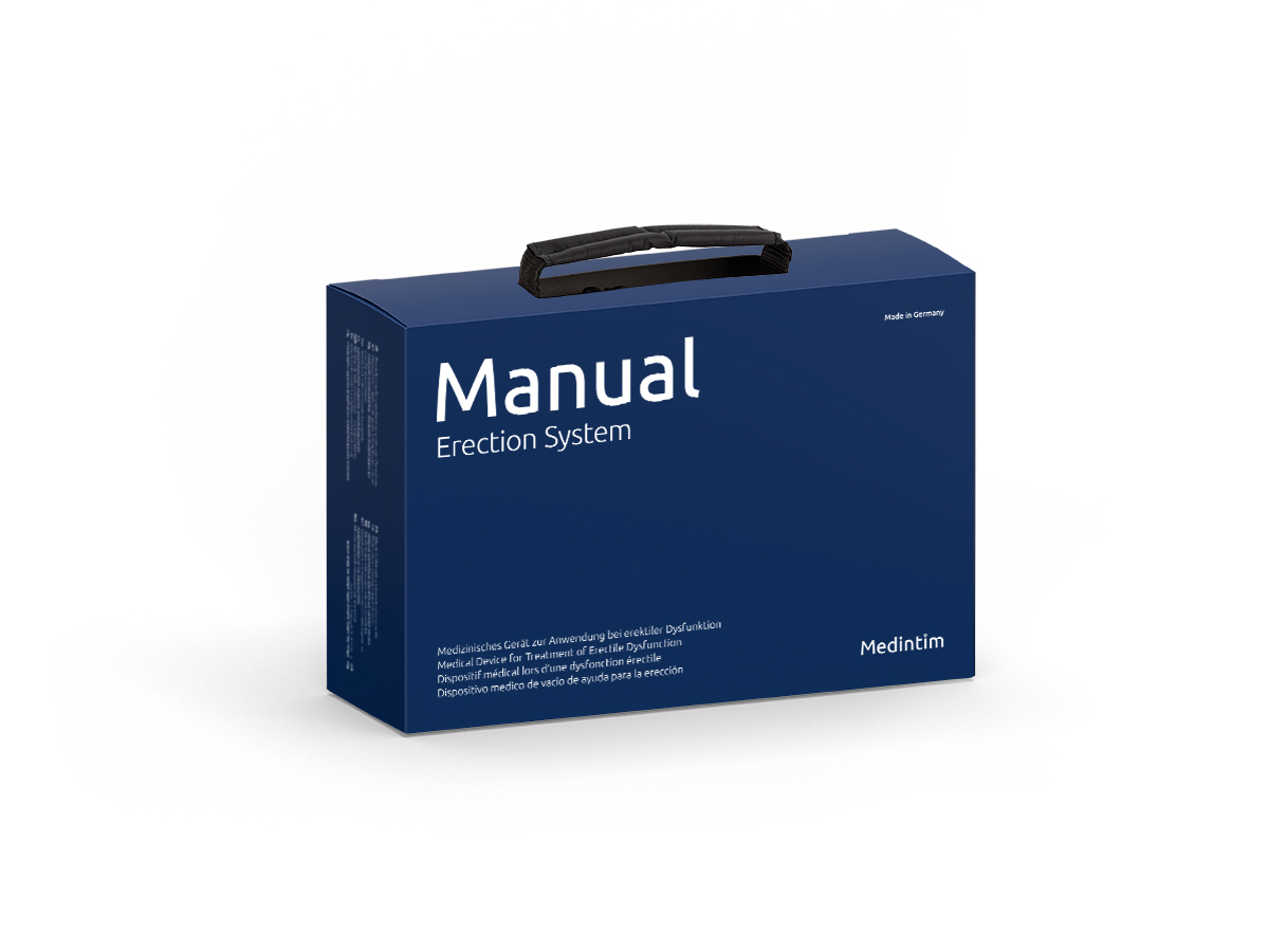 MANUAL Erection System   Vakuum-Erektionshilfe