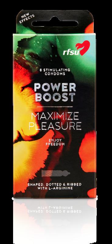 POWER BOOST | Stimulating Condoms